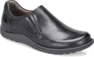 Men's Born Nigel Black Slip On Shoe
