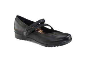 Women's Aetrex Ada Black Shoe