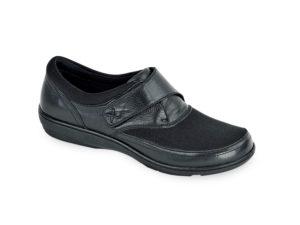 Women's Aetrex Emma Black Shoe