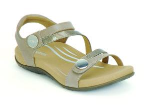 Women's Aetrex Jess Smoke Sandal