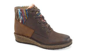 Women's Aetrex Jolie Chocolate Short Boot