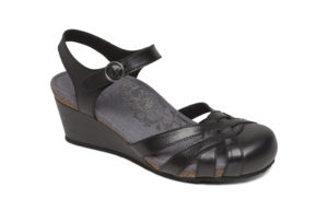 Women's Aetrex Lindsay Black Shoe