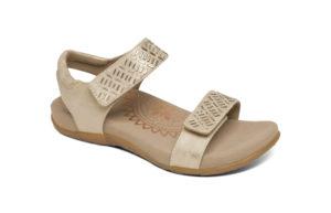 Women's Aetrex Marcy Champane Sandal