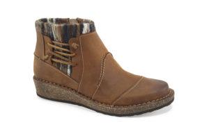 Women's Aetrex Tessa Cognac Short Boot