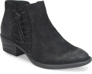 Women's Born Bessie Black Short Boot