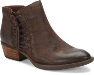 Women's Born Bessie Brown Short Boot