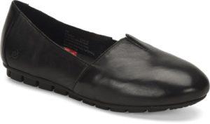 Women's Born Sebra Black Flat Shoe