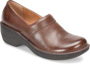 Women's Born Toby Duo Brown Clog Shoe