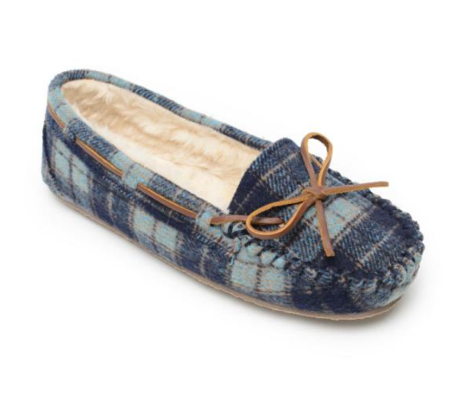 Minnetonka Plaid Navy