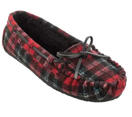 Minnetonka Plaid Red